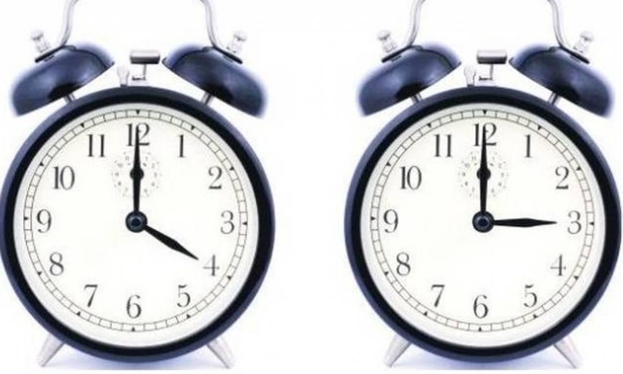 Αλλαγή ώρας: Προσοχή! Μην ξεχάσετε να γυρίσετε τα ρολόγια σας