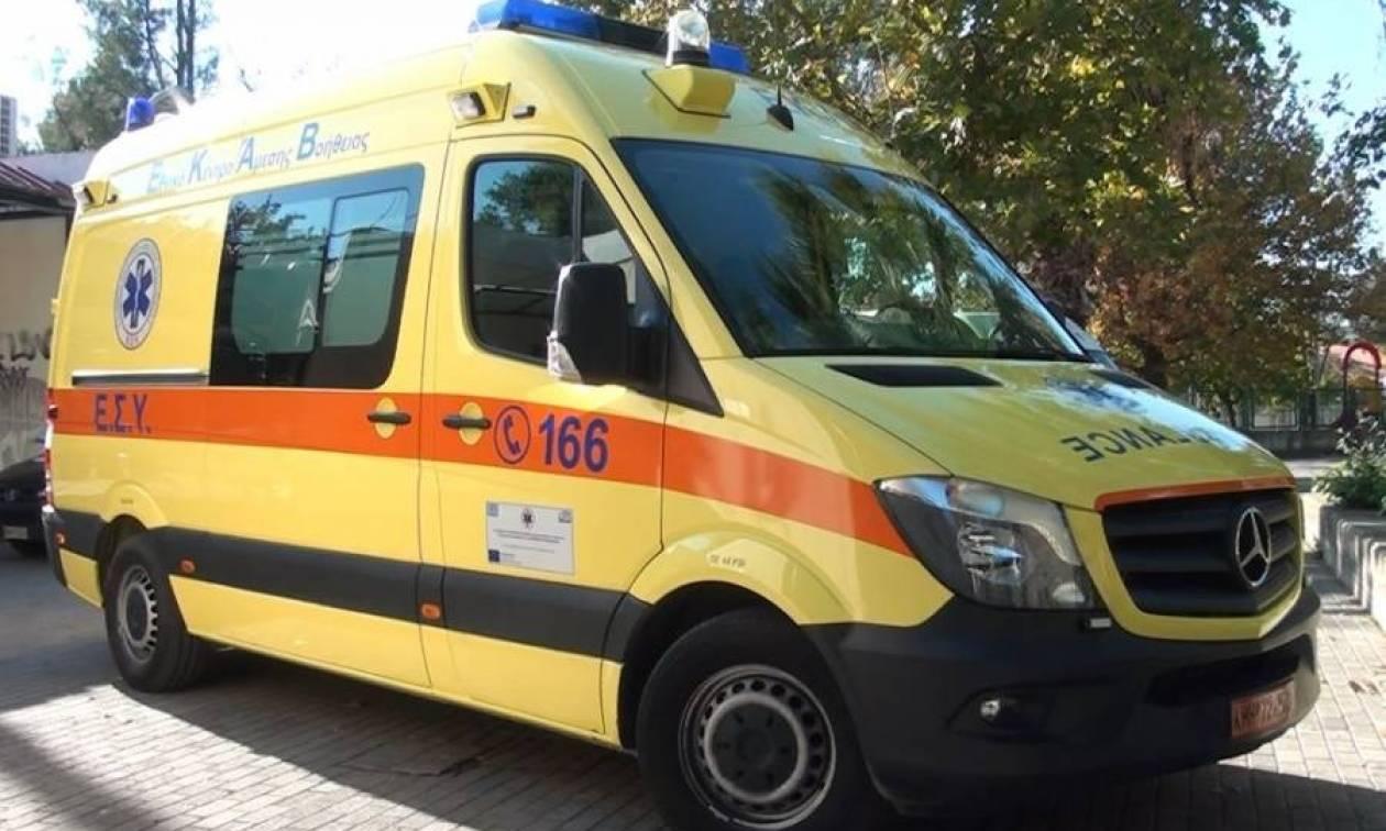 Ναύπλιο: Σοβαρό τροχαίο με δύο τραυματίες (vid)