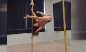 Το Pole Dancing δεν είναι πάντα σέξι – Αυτό είναι το βίντεο που το αποδεικνύει