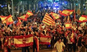 Καζάνι που βράζει η Ισπανία: Στους δρόμους χιλιάδες διαδηλωτές για την Καταλονία