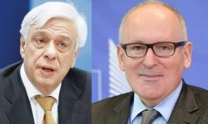 Στην Αθήνα ο αντιπρόεδρος της Κομισιόν τη Δευτέρα (30/10): Θα τον βραβεύσει ο Προκόπης Παυλόπουλος