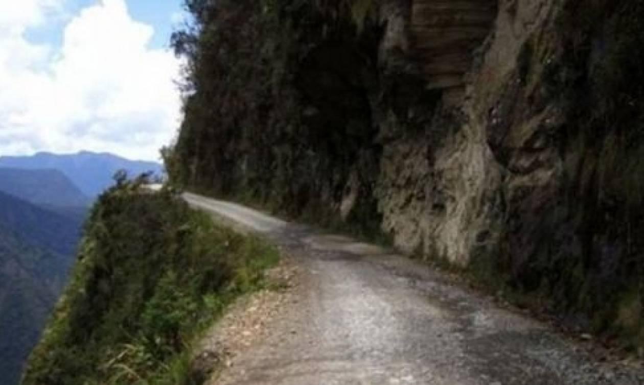 Αυτός είναι ο πιο επικίνδυνος δρόμος στην Ελλάδα και ο 10ος παγκοσμίως (vid)