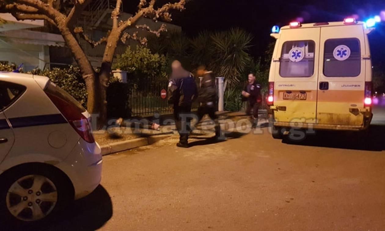 Θρίλερ στη Λαμία: Ήταν πεσμένη στο πεζοδρόμιο και νόμιζαν ότι είναι νεκρή
