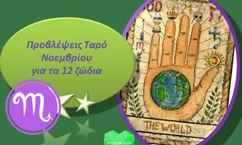 Σκορπιός - Μηνιαίες Προβλέψεις Ταρώ Νοεμβρίου
