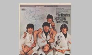 Δημοπρατείται το εξώφυλλο του «Yesterday and Today» των Beatles