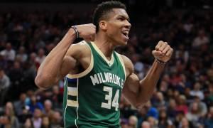 NBA: Σπάει όλα τα… ρεκόρ ο Γιάννης! «Έπιασε» τον Σακίλ Ο' Νιλ! (photo)