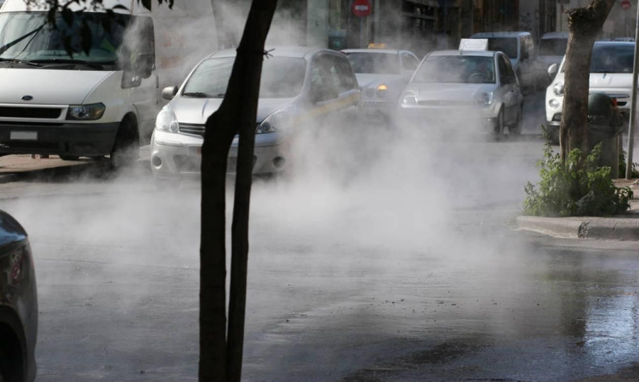 Κοζάνη - Συναγερμός από διαρροή τηλεθέρμανσης