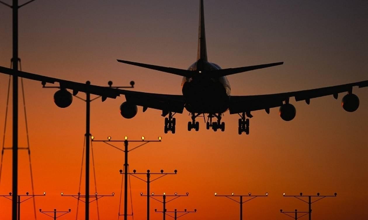 Αναγκαστική προσγείωση αεροσκάφους - Βρέθηκε ύποπτο αντικείμενο