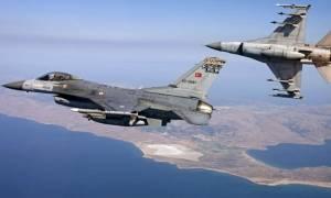 Οπλισμένα τουρκικά αεροσκάφη στο Αιγαίο: Εμπλοκή με ελληνικά μαχητικά