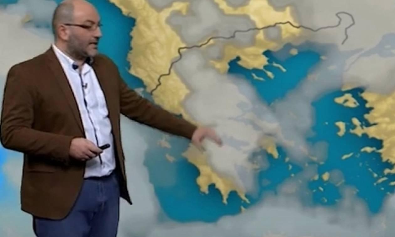 Σάκης Αρναούτογλου: Σε ποιες περιοχές θα κάνει ποδαρικό ο Νοέμβρης με έντονα φαινόμενα (video)