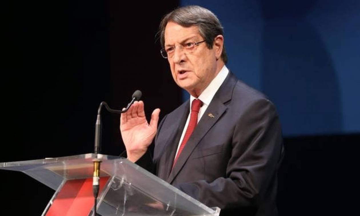 Συγκρατημένα αισιόδοξος για το νέο κύκλο γεωτρήσεων εντός του 2018, δηλώνει ο Πρόεδρος Αναστασιάδης