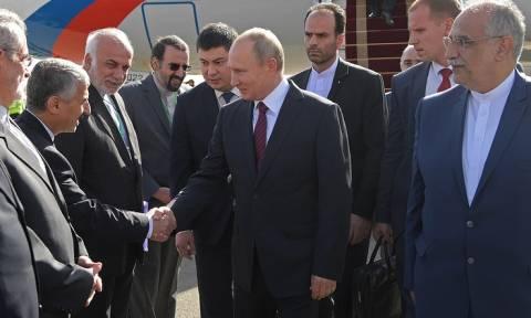 Путин прибыл в Тегеран