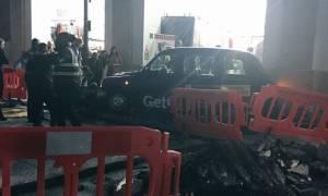 Ταξί έπεσε πάνω σε πεζούς στο Λονδίνο