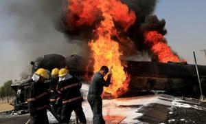 Τραγωδία στο Αφγανιστάν: Φονική έκρηξη σε βυτιοφόρα – 15 νεκροί