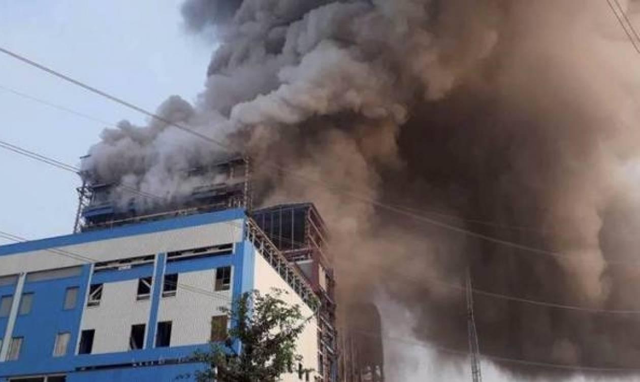 Ινδία: Αυξάνεται ο αριθμός των νεκρών από έκρηξη σε μονάδα παραγωγής ηλεκτρικής ενέργειας