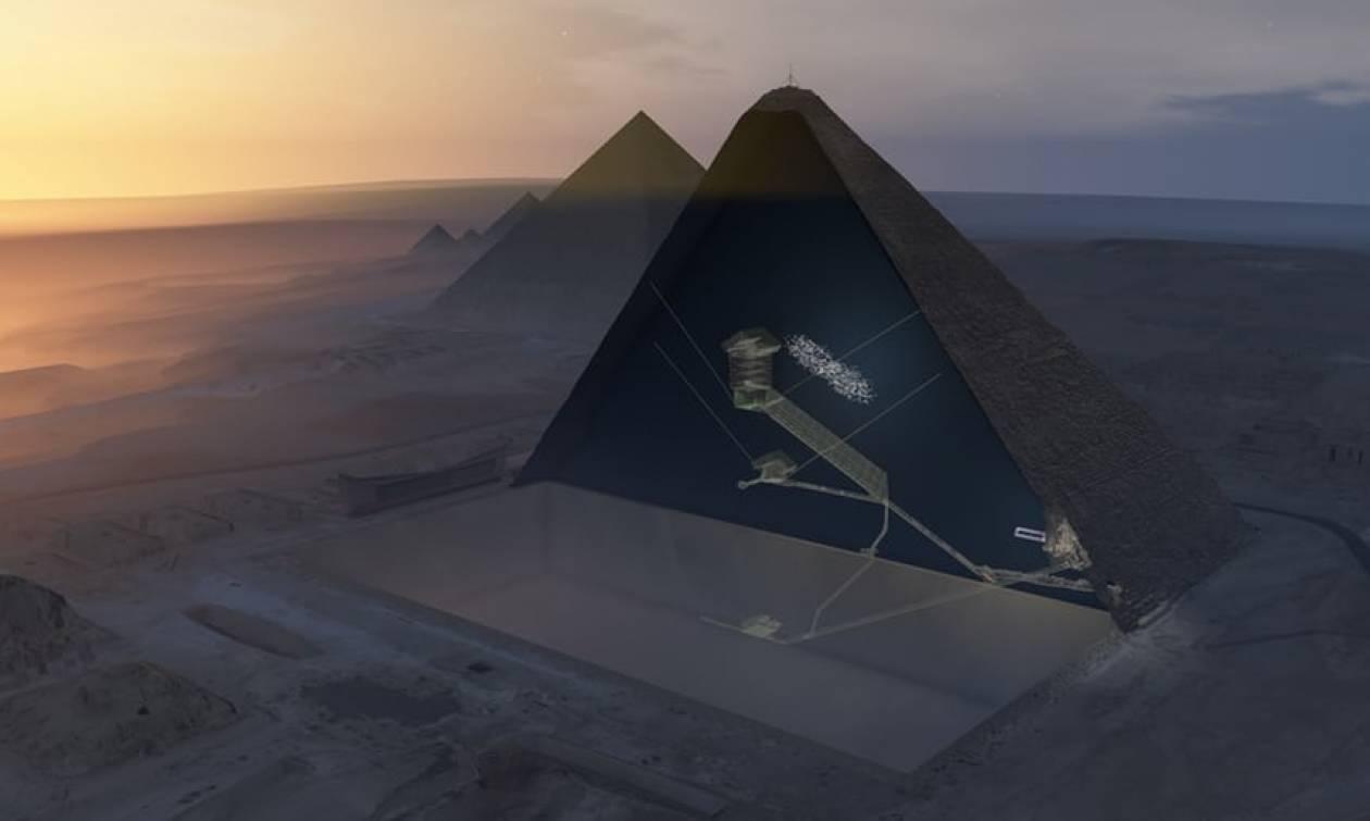 Σπουδαία αρχαιολογική ανακάλυψη: Βρέθηκε μυστηριώδης «τρύπα» στη Μεγάλη Πυραμίδα του Χέοπα (pics)
