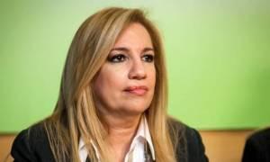 Γεννηματά: Συνειδητή επιλογή των ΣΥΡΙΖΑ-ΑΝΕΛ η εξόντωση της μεσαίας τάξης