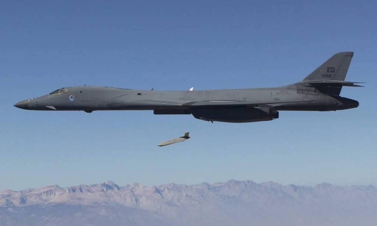 Αμερικανικά στρατηγικά βομβαρδιστικά συμμετείχαν σε άσκηση στη χερσόνησο της Κορέας