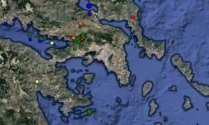 Νέος σεισμός στη Θήβα - Ταρακουνήθηκε πάλι η Αθήνα