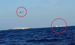 Τι συμβαίνει στα Ίμια; Τουρκικά πλοία, ελικόπτερα και αεροσκάφη γύρω από τις βραχονησίδες