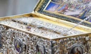 Η θαυματουργός και πάνσεπτη Τιμία Ζώνη της Θεοτόκου στην Αθήνα από το Αγιο Όρος