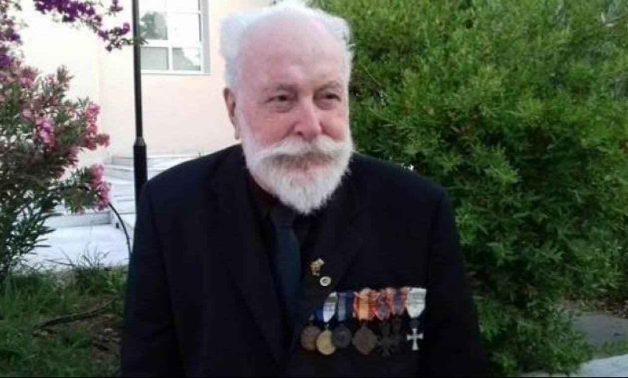 Θλίψη: Έφυγε από τη ζωή ο τελευταίος επιζών αξιωματικός της Μάχης της Κρήτης