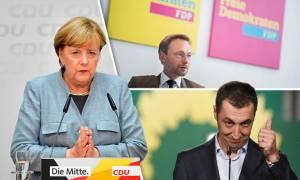 Γερμανία: Ούτε κουβέντα για την Ελλάδα στις διαπραγματεύσεις Μέρκελ - «Τζαμάικα»
