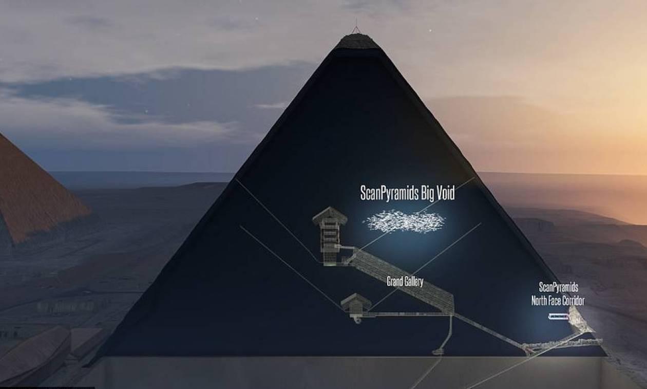«Πόλεμος» για την ανακάλυψη στη Μεγάλη Πυραμίδα του Χέοπα - Η «μυστηριώδης» τρύπα ήταν γνωστή!