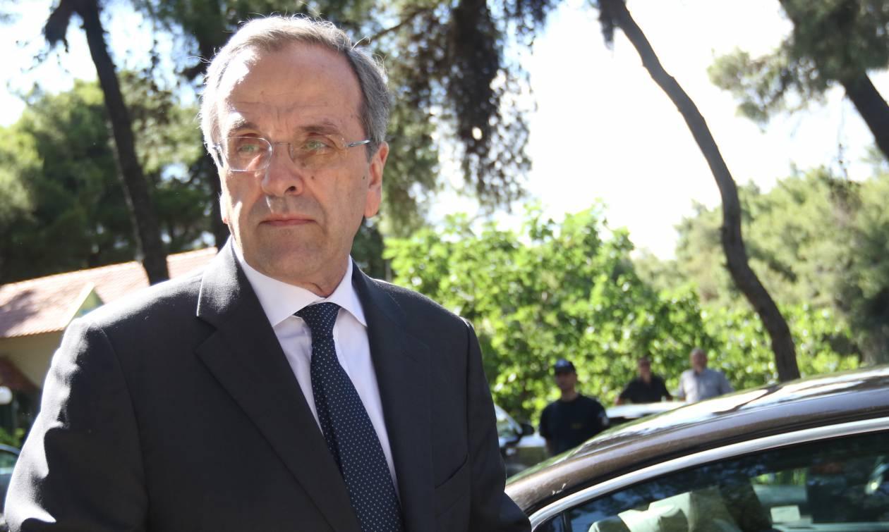 Συνεργάτες Σαμαρά: «Παραμύθι τα περί επίθεσης του πρώην πρωθυπουργού στον Μητσοτάκη»