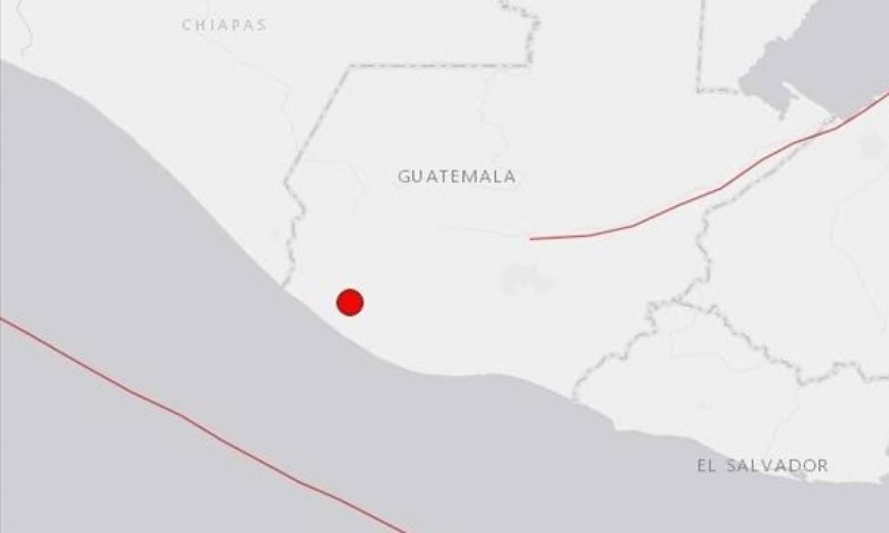 Σεισμός 5,1 Ρίχτερ στη Γουατεμάλα