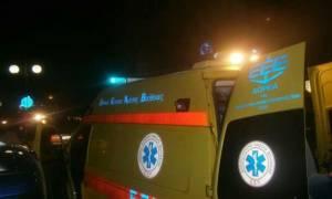 Xανιά: Τροχαίο ατύχημα με δύο τραυματίες (pic)