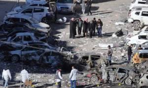 «Λουτρό» αίματος στη Συρία: Τουλάχιστον 75 νεκροί από έκρηξη σε παγιδευμένο αυτοκίνητο
