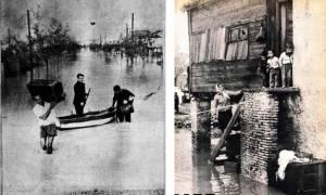 Σαν σήμερα το 1961 σφοδρή νεροποντή πλήττει την Αττική - 43 νεκροί από τα πλημμυρικά φαινόμενα