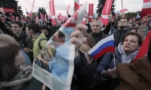 Ρωσία: Συλλήψεις εκατοντάδων διαδηλωτών κατά του Πούτιν