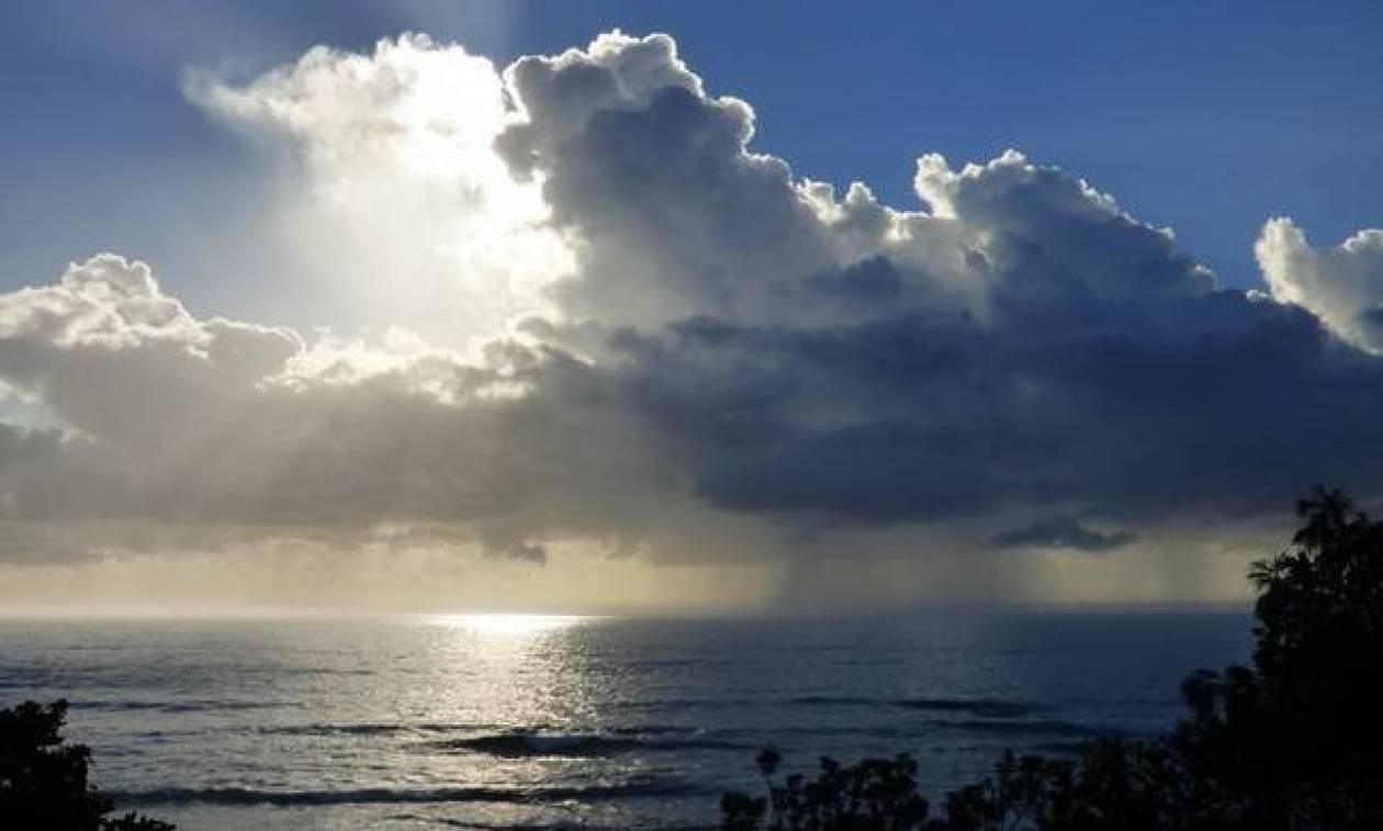 Καιρός τώρα: Με νεφώσεις, βροχές και πολλά μποφόρ η Δευτέρα (pics)