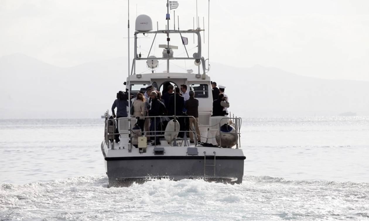 Διάσωση 45 προσφύγων βορειοανατολικά της Σάμου