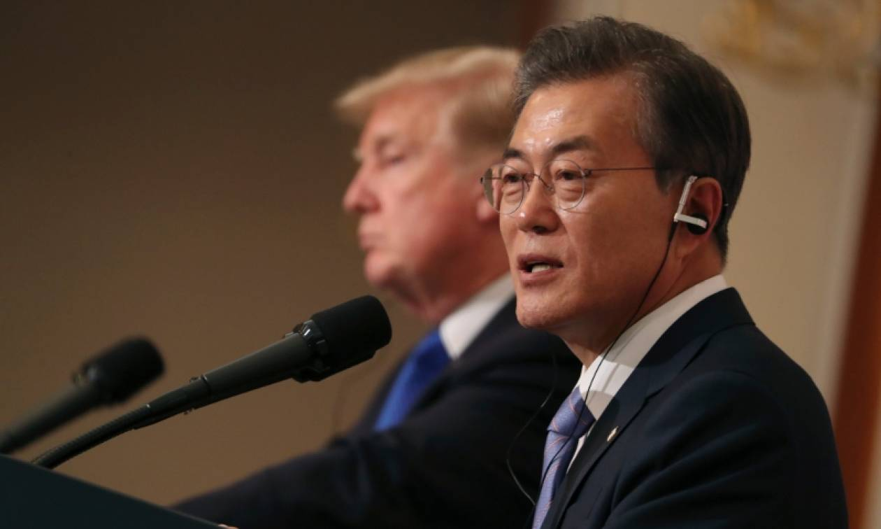 Νότια Κορέα: Ακυρώθηκε η επίσκεψη Τραμπ και Μουν στην αποστρατιωτικοποιημένη ζώνη