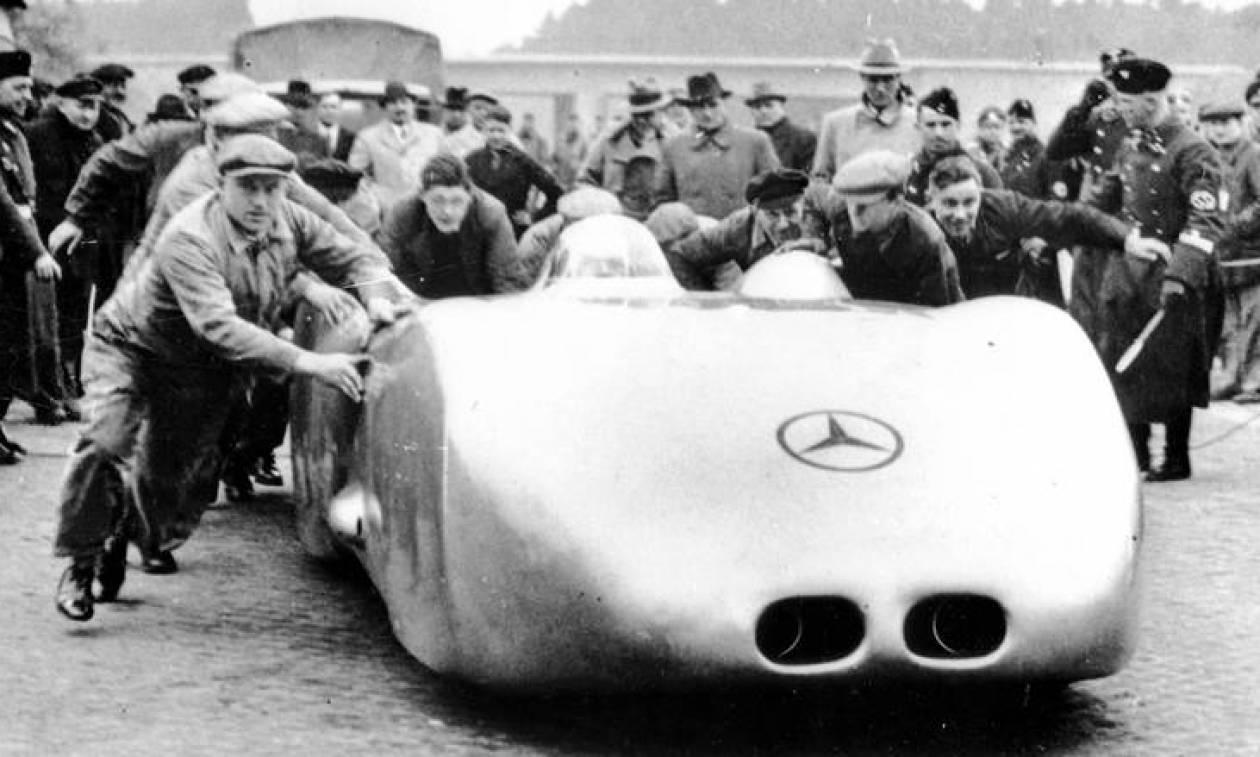 Το πιο γρήγορο αυτοκίνητο πριν το Koenigsegg Agera RS, η Mercedes W 125, έχει ηλικία 80 ετών