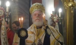 Εκοιμήθη την ώρα της Θείας Λειτουργίας ο Μητροπολίτης Μάνης Χρυσόστομος