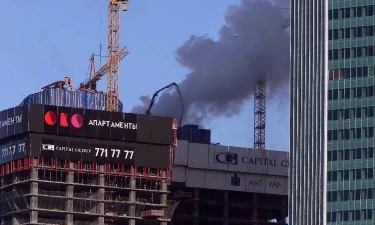 Ρωσία: Πυρκαγιά στο κτήριο της Υπηρεσίας Πληροφοριών της Μόσχας