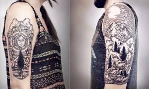 Θα πάθετε πλάκα με αυτά τα τατουάζ!