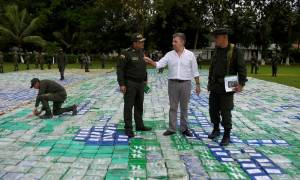 Κολομβία: Η κυβέρνηση ανακοίνωσε την κατάσχεση - ρεκόρ 12 τόνων κοκαΐνης (pics)