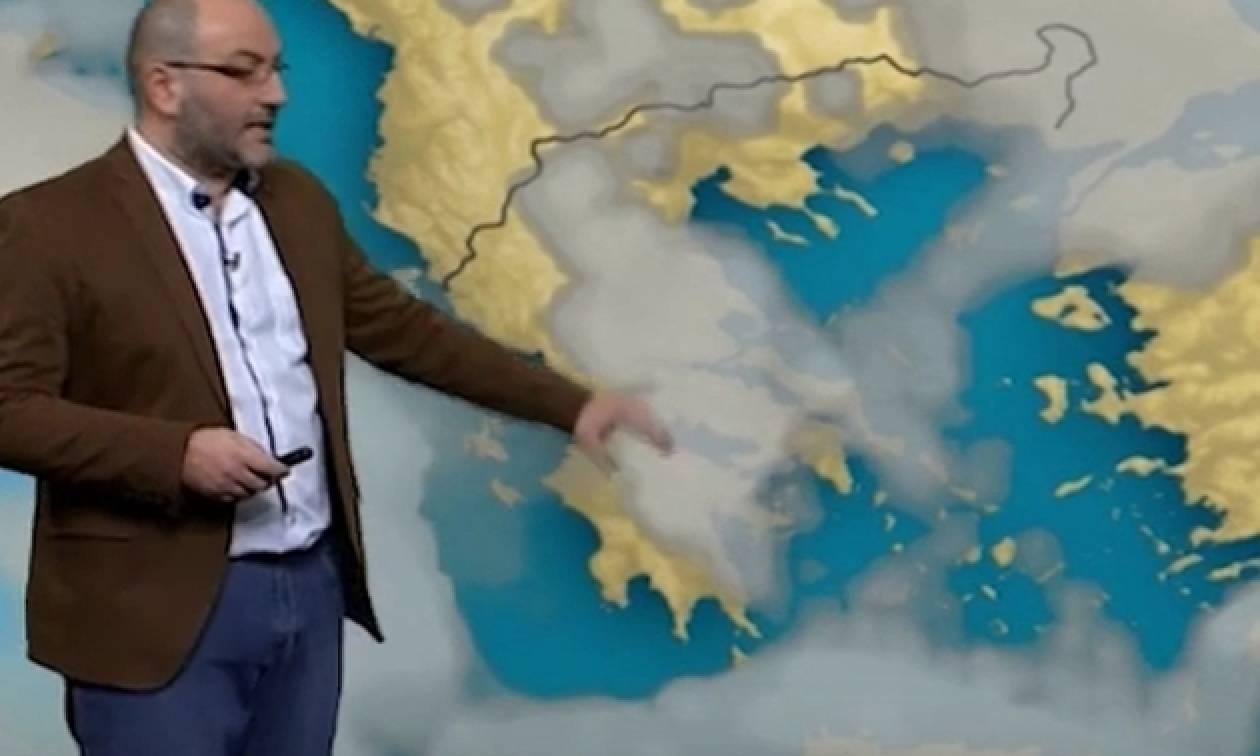 Ο Σάκης Αρναούτογλου για τη νέα επιδείνωση του καιρού (video)