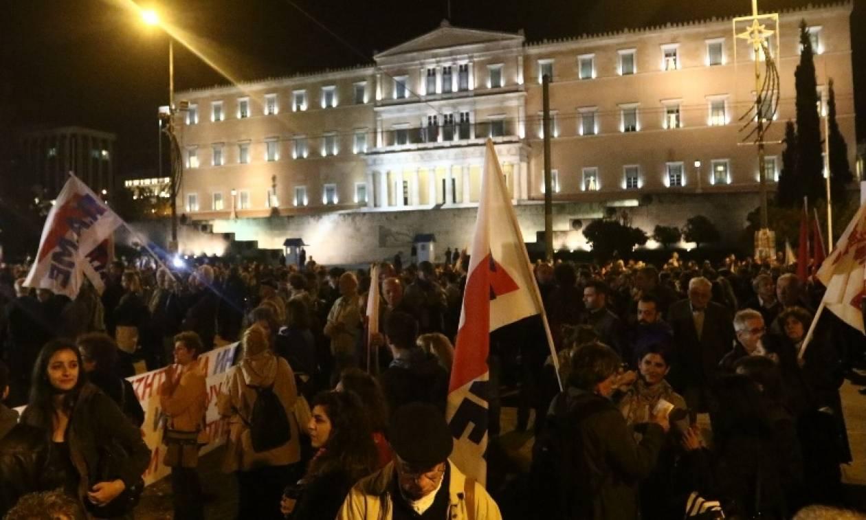 Συλλαλητήριο του ΠΑΜΕ στο Σύνταγμα – Απροσπέλαστο το κέντρο της Αθήνας