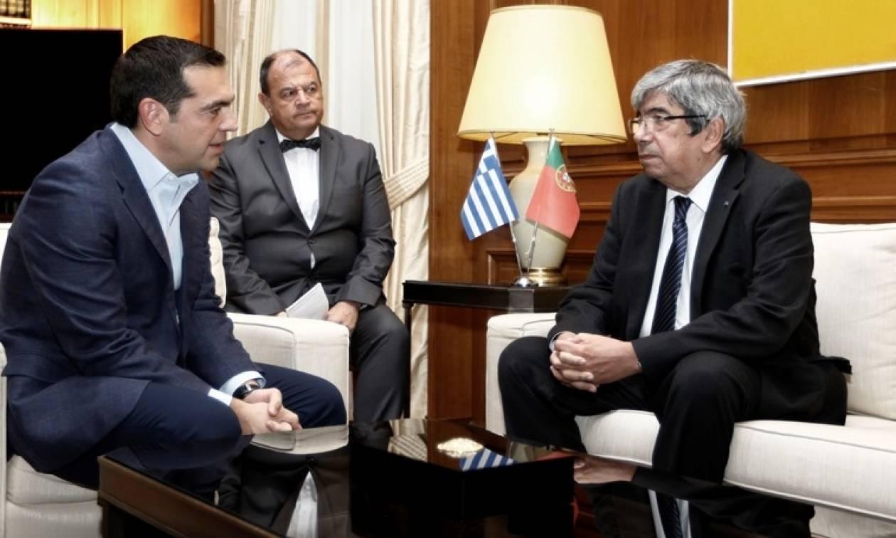 Τσίπρας: Ελλάδα και Πορτογαλία αντιμετωπίζουν και ξεπερνούν τις προκλήσεις
