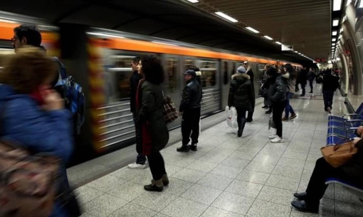 Στάση εργασίας στο μετρό τη Δευτέρα (13/11)
