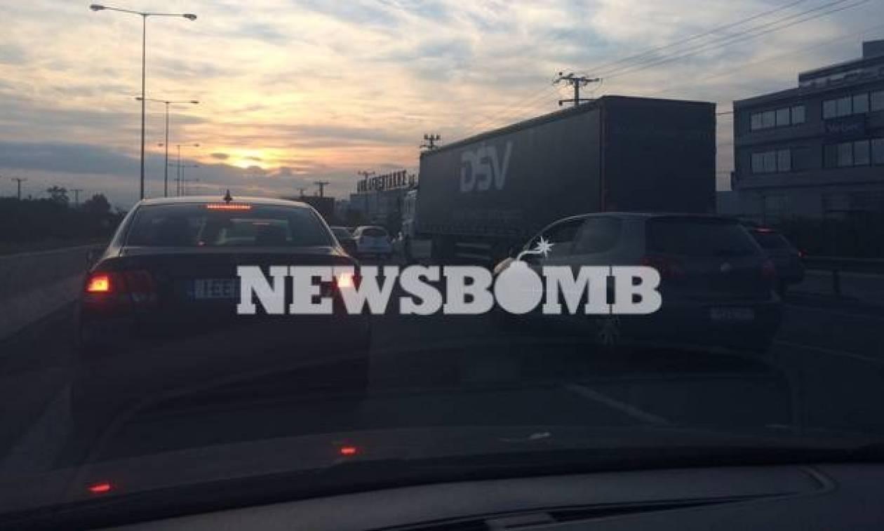 ΤΩΡΑ: Κυκλοφοριακό χάος στον Κηφισό