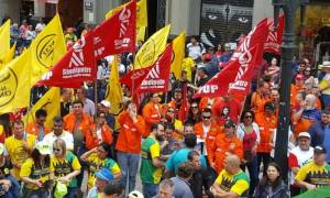 Βραζιλία: Χιλιάδες άνθρωποι στους δρόμους του Σάο Πάολο κατά της λιτότητας
