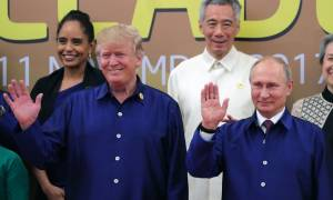 Путин встретился с Трампом на саммите АТЭС