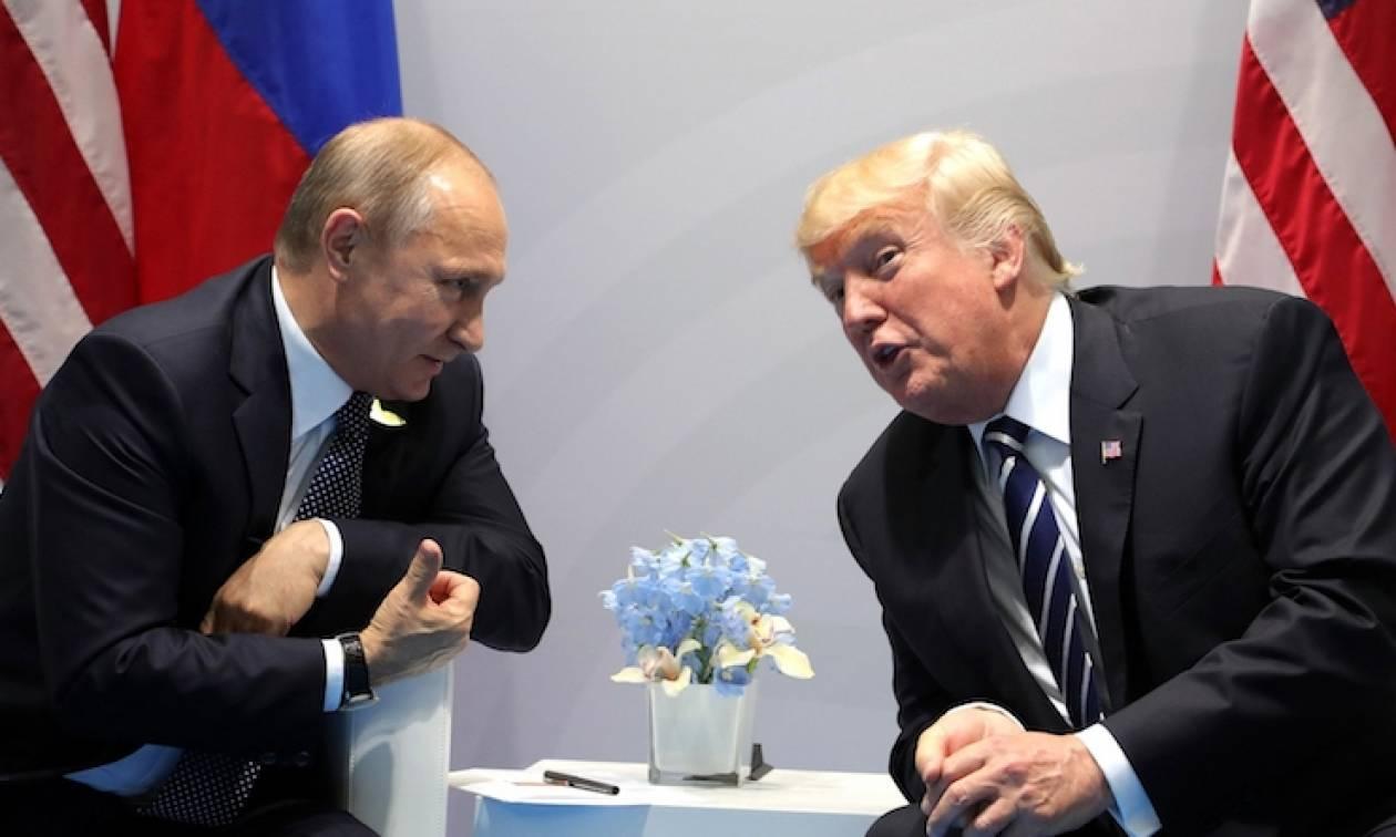 Κοινό μέτωπο Τράμπ - Πούτιν κατά του Ισλαμικού κράτους